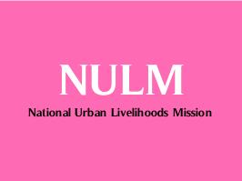 National Urban Livelihood Mission Recruitment 2015