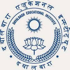 Dayalbagh Educational Institute Recruitment 2015