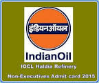 IOCL Haldia Non-Executives Cutoff list 2015
